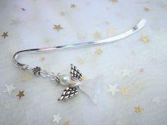Schönes Schutzengel-Lesezeichen Metall mit   Schutzengel von Funny-Pen auf DaWanda.com