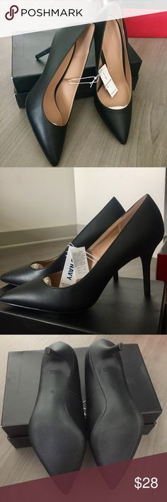 "Classic Pointed Toe Heels New with Tags! Classic black heels. US Size 10. Heel Height: 3.5"" Old Navy Shoes Heels"