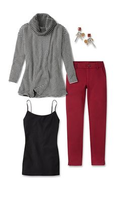 Check out five unique ways to mix and match the Fergie Turtleneck with other cabi items!  jeanettemurphey.cabionline.com