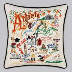 United States Pillows...which state/city would you get? #catstudio