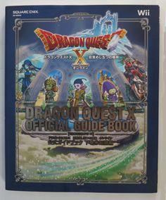 #DragonQuest Dragon Quest X Wii Official Guide Book ( Japanese ) http://www.japanstuff.biz/