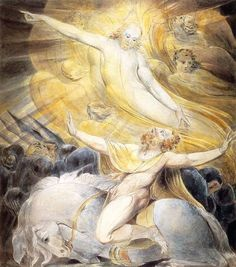 New Testament - The Conversion of Saul by William Blake Harry Clarke, Kay Nielsen, Arthur Rackham, William Blake Art, The Modern Prometheus, La Madone, English Poets, Pictures To Paint, Painting Pictures