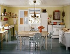Bring Back The Kitchen Table | Content in a Cottage