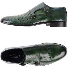 Ciro Lendini Moccasins featuring polyvore men's fashion men's shoes men's  loafers green mens green shoes mens