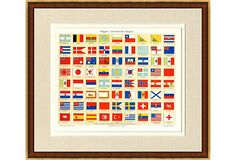 Antique Flag Diagram on OneKingsLane.com