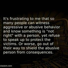 Victim blaming. All too common. If someone is not part of the solution they're part of the problem. - narcissist_survivor