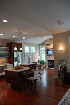 Universal Designed award winning house by LIFEhouse interior. Lots of great features without looking accessible.
