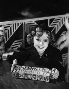 Shirley Temple in 1935.