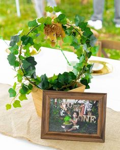 44 Best Safari Centerpieces Images In 2019 Jungles Birthday Party