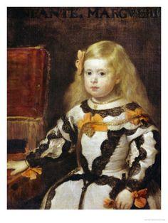 daughter of the king  | ... of the Infanta Maria-Margarita, Daughter of Philip IV, King of Spain