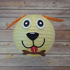 PaperLanternStore.com Kid Craft Project Paper Lantern Animal Face DIY Kit - Dog - - Amazon.com