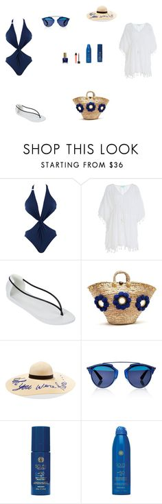 """""""Beach Day"""" by julianaf1609 ❤ liked on Polyvore featuring Fleur of England, Melissa Odabash, IPANEMA, Muzungu Sisters, Eugenia Kim, Christian Dior, Soleil Toujours, ncLA and Jouer"""