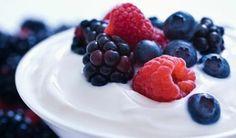 Pouding à la vanille et aux fruits