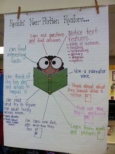Reading Non-Fiction Anchor Chart