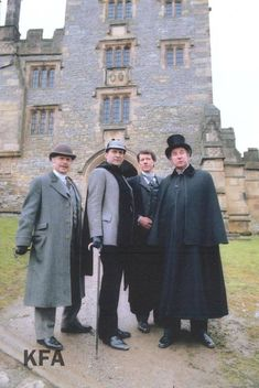 "double-zero-agent-alison: ""Falk Archive photo from ""The Priory School"". Jeremy Brett Sherlock Holmes, Sherlock Holmes Book, Holmes Movie, Adventures Of Sherlock Holmes, Watson Sherlock, Sherlock Holmes Elementary, Elementary My Dear Watson, Famous Detectives, Tv Detectives"