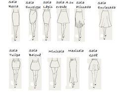 Socorro Vou Morar Sozinha: Curso Nível 0: Vários tipos de saias para vários…