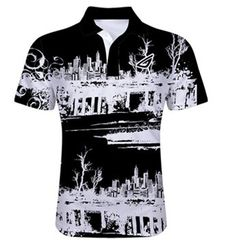 6b57f4514 Are you in need of placing bulk order on wholesale Black and White Sublimated  Polo Shirt