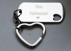 Schlüsselanhänger - Schlüsselanhänger mit Gravur - ein Designerstück von…