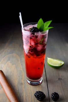 How to Make A Blackberry Mojito