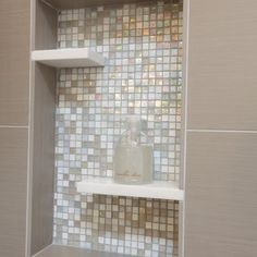 Mother Of Pearl Tile Design Ideas, Pictures, Remodel, and Decor - page 7