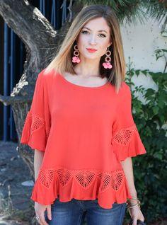 Looking amazing in orange, @pardonmuahpins!