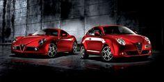 Alfa MiTo and 8C Competizione
