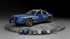 ArtStation - Gotham Police Car, Joseph Lynch