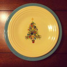 Christmas Fiestaware on Turquoise  sc 1 st  Pinterest & Fiesta® Christmas Tree Commemorative 2017 Dinner Plate | Dillard\u0027s ...