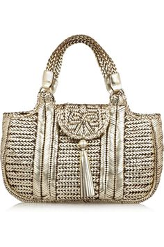 6d5cc5d2c301 ANYA HINDMARCH - Neeson woven leather tote
