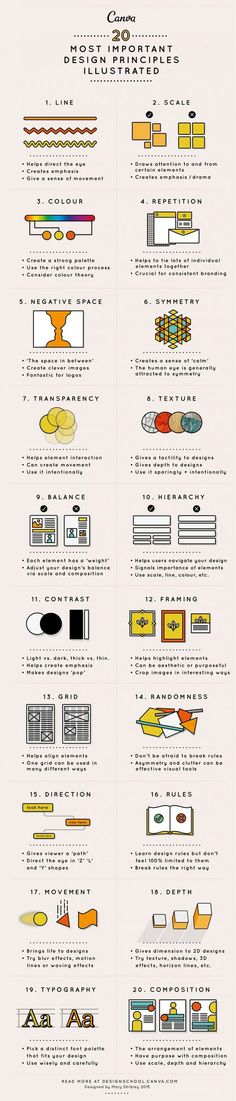 This article will take you through 20 principles of design to hopefully give you a headstart in this creative environment. If you like UX, design, or design thinking Layout Design, Design De Configuration, Graphisches Design, Graphic Design Tips, Graphic Design Inspiration, Tool Design, Design Basics, Design Ideas, Creative Design
