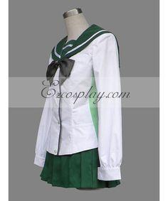 A los usuarios también les encantan estas ideas. Highschool Of The Dead  Miyamoto Rei Busujima Saeko Cosplay Student Uniform Vestido De Capa 4019f82d1f0e
