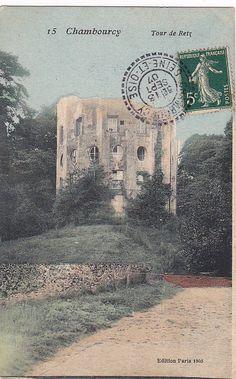 """La """"maison-colonne"""" en 1905..."""