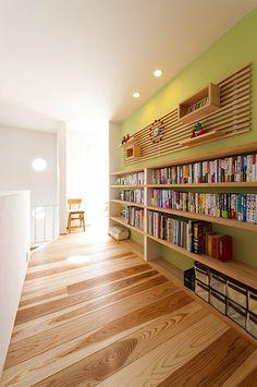 造作イメージ集 Small Home Gyms, At Home Gym, Bookshelves, Bookcase, Glass Walkway, Book Racks, Home Libraries, Japanese House, Fixer Upper