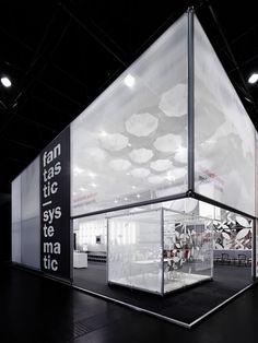 Burkhardt Leitner Exhibition Stand    stellar design by the stuttgart-based architectural firm
