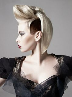 Swell Updo My Hair And Pin Curls On Pinterest Short Hairstyles Gunalazisus