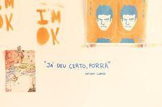 Conheça o atelier/home office da Ju Amora.