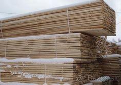 Stavebný materiál, rezivo, hranoly, dosky - 1