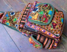 Tribal Backpack One Shoulder Design Ethnic by SiameseDreamDesign, $56.00