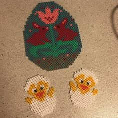 Easter hama beads by cille_cer87