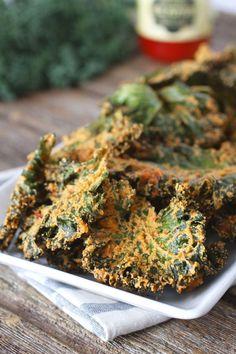 Nacho 'Cheese' Kale Chips | Paleo & Vegan Friendly