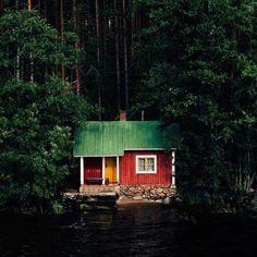Image result for cabin porn