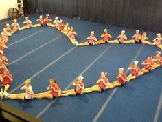 This is really cute! If only we had enough cheerleaders :)