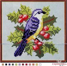 птички вышивка схемы: 25 тыс изображений найдено в Яндекс.Картинках