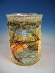 Stony Creek Round Trout Lamp