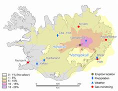 The six month long eruption of the Bardarbunga volcano from August 2014 to February 2015, released more SO2 that was released in Europe in the whole of 2011, and enough lava to cover Manhattan Island.