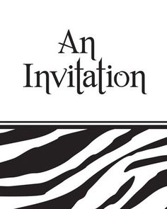 Creative Converting Animal Print Party Invitations Zebra 8 Count * Find out more about the great product at the image link.
