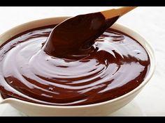 Ganache De Chocolate - YouTube