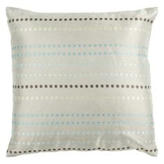 Surya Dotted Line Decorative Pillow - Gray Down - HH078-1818D