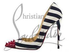 LA CARABA EN BICICLETA...: RAYAS Louboutin Pumps, Christian Louboutin, Heels, Fashion, Stripes, Bike, Heel, Moda, Fashion Styles