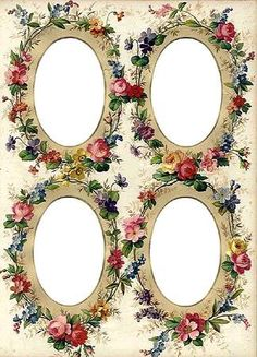 Victorian Floral Frames ~ Gallery.ru / Фото #61 - Рамки - OlgaHS